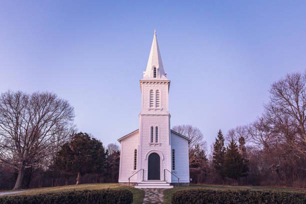 South Ferry Church stock photo
