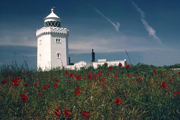 South Foreland Lighthouse stock photo
