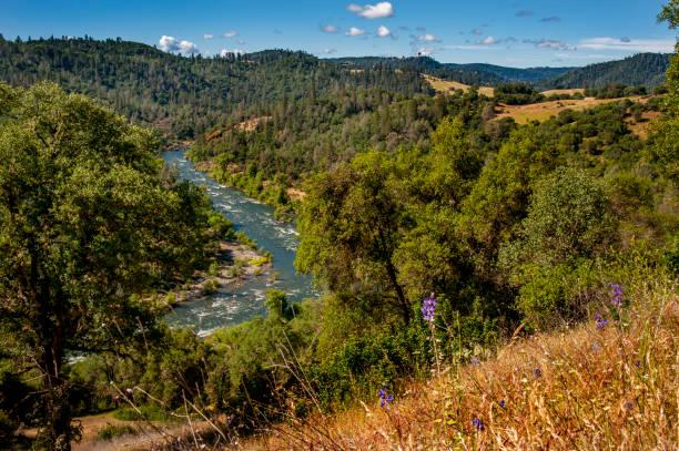 South fork of the American River, El Dorado County, California stock photo