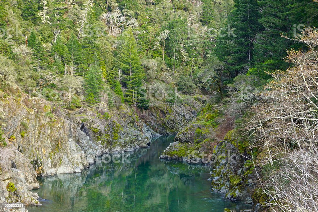 South Fork Smith River stock photo