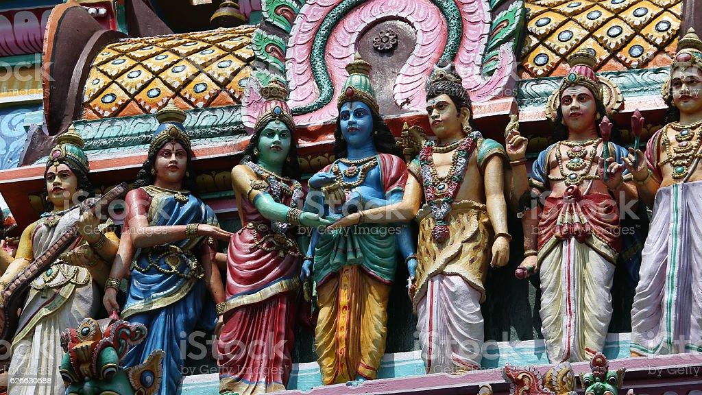 South Gate, Thillai Natarajah, Chidambaram, India, Temple stock photo