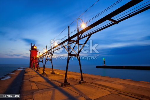 177362898 istock photo South Haven Lighthouse. 147962089