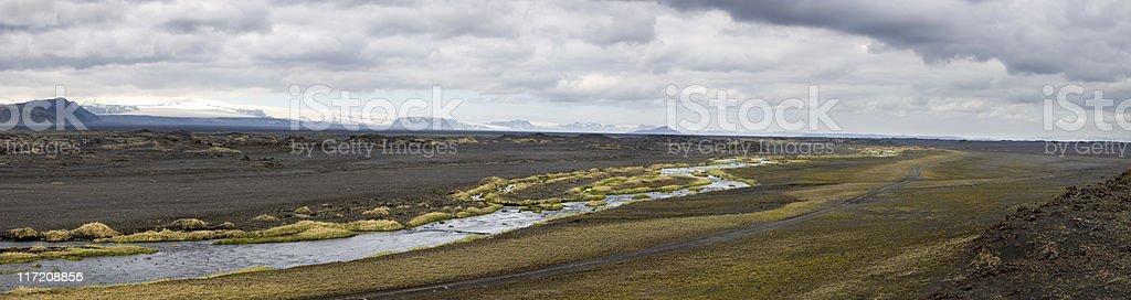 South Iceland Landscape royalty-free stock photo