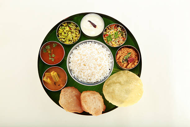 south indian food - south stock photos and pictures
