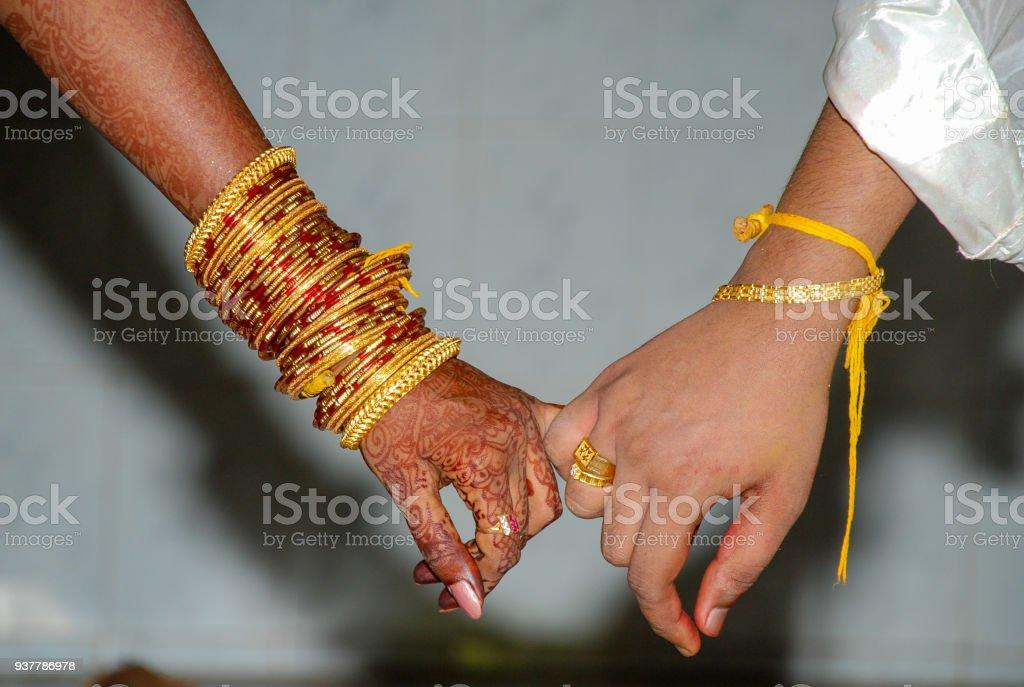South Indian Wedding stock photo