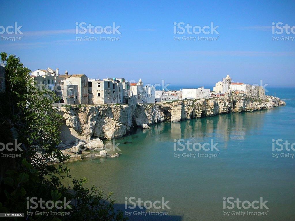 South Italian Landscape stock photo