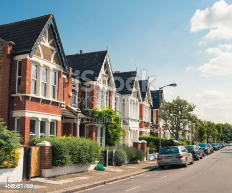 istock South London - Victorian Housing 458581789