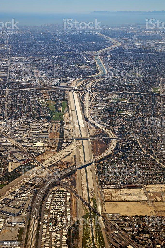 South Los Angeles XXXL royalty-free stock photo