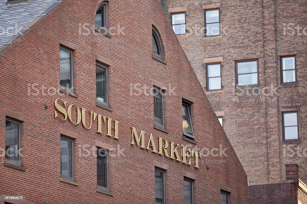South Market stock photo