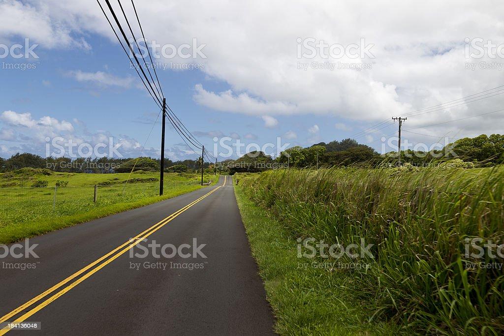 South Maui, Hawaii, USA, Road to Hana royalty-free stock photo