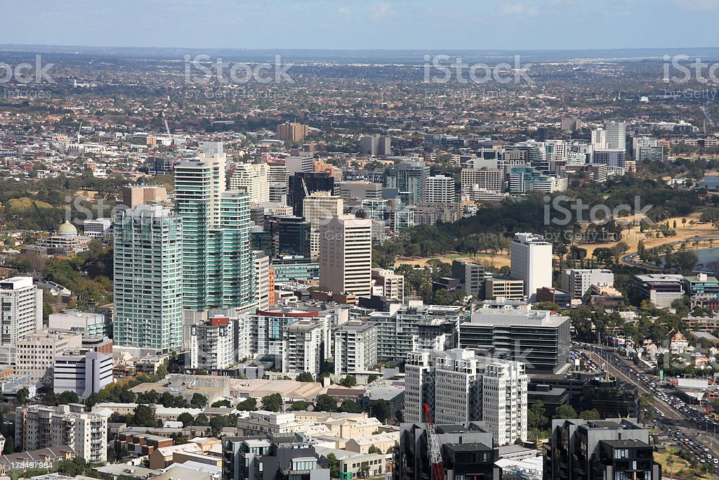 South Melbourne royalty-free stock photo