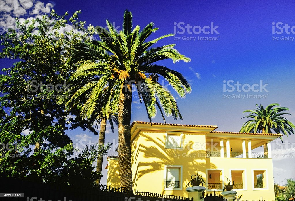 south of france stock photo