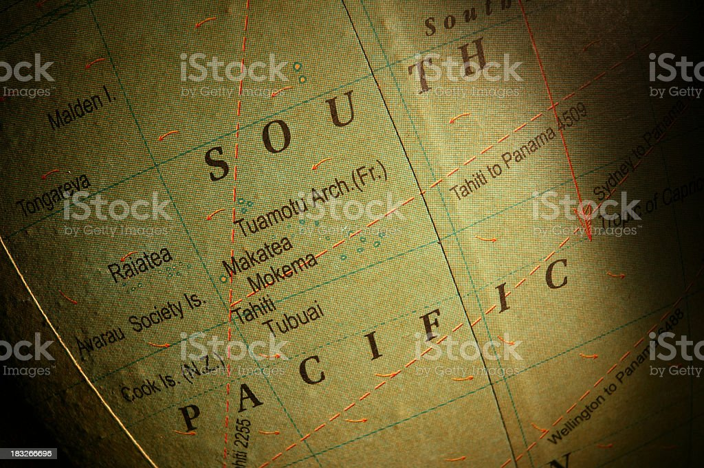 South Pacific royalty-free stock photo