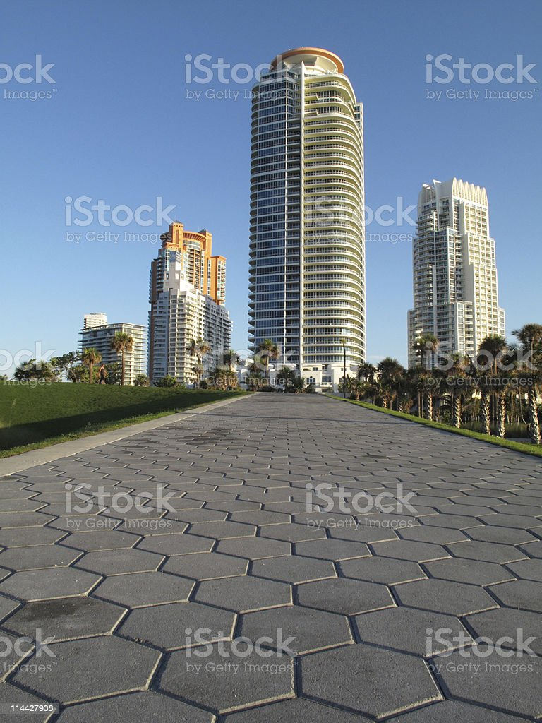 South Point park stock photo