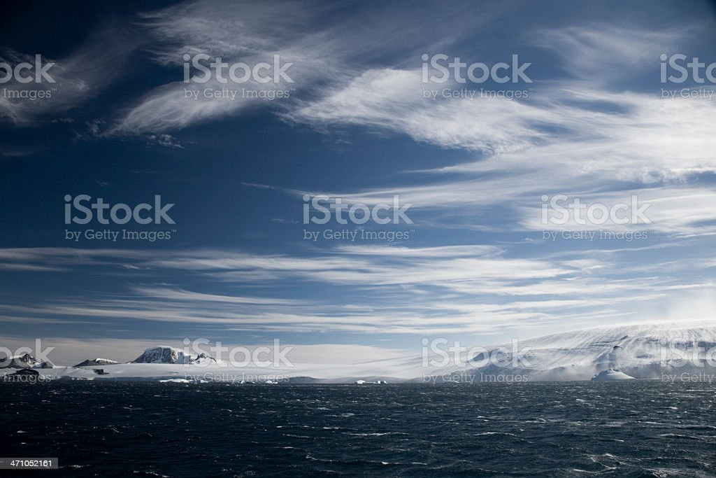 South Pole Landscape / Antarctica royalty-free stock photo