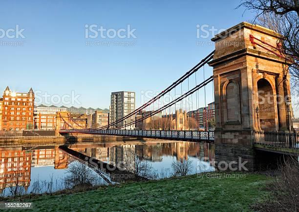 South Portland Street Bridge Glasgow Stock Photo - Download Image Now