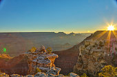 South Rim Grand Canyon HDR photo