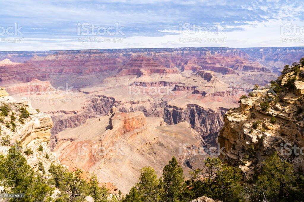 South rim of Grand Canyon - Royalty-free Acute Angle Stock Photo