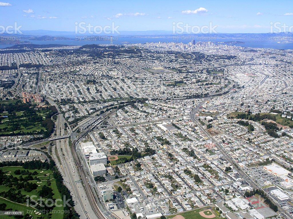 South San Francisco royalty-free stock photo