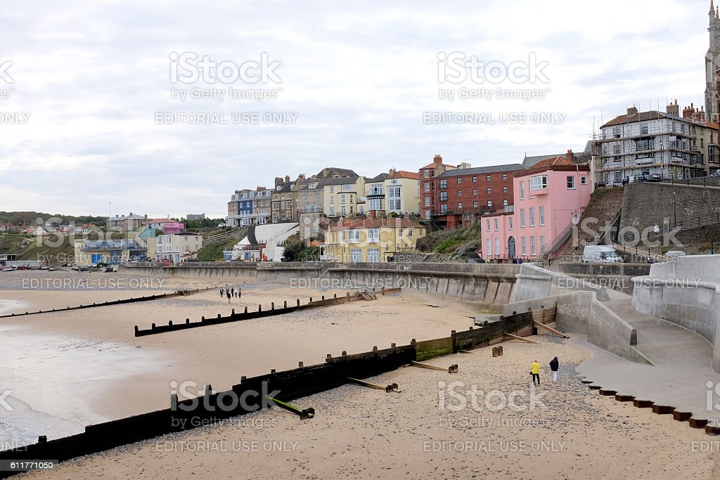 South seafront, Cromer. stock photo