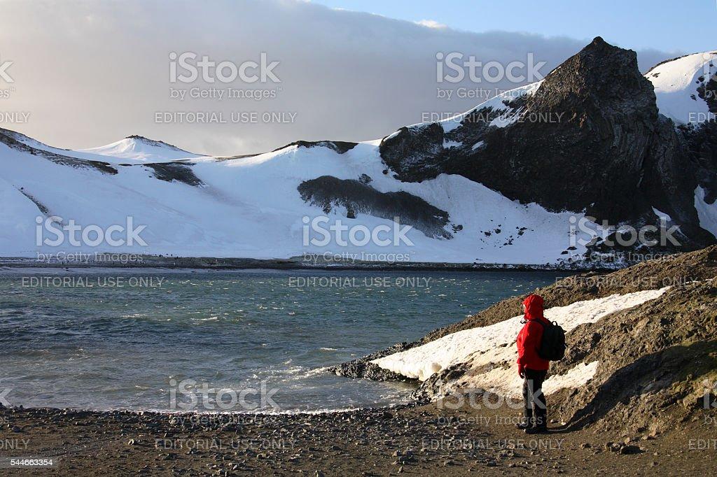 South Shetland Islands - Antarctica stock photo