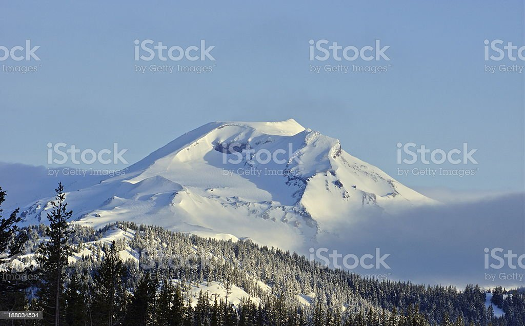 South Sister Ice stock photo