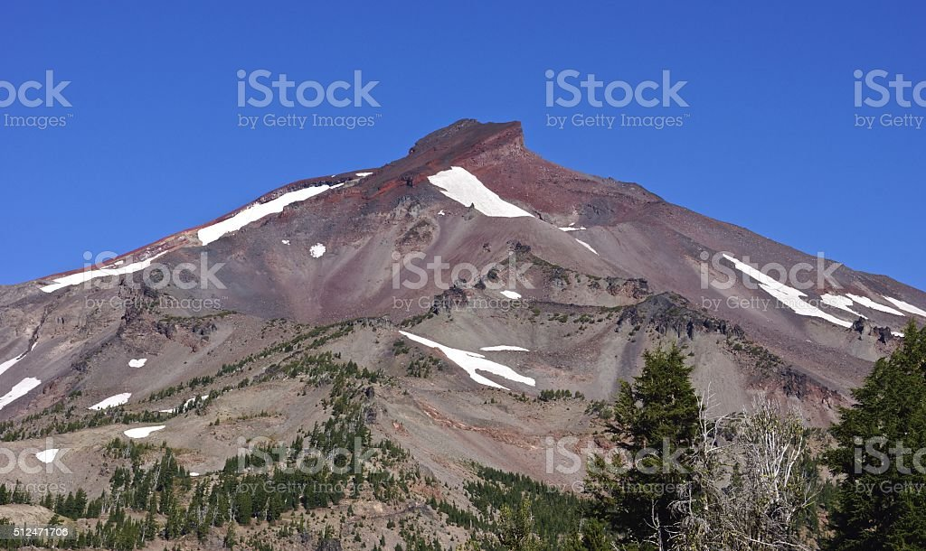 South Sister stock photo