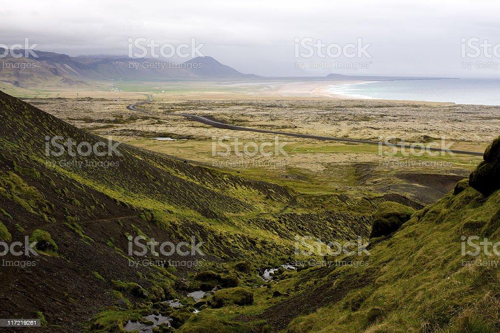 South Snaefellsnes Landscape royalty-free stock photo