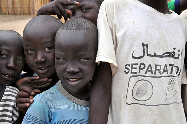 south sudanese for separation - sudan stock photos and pictures
