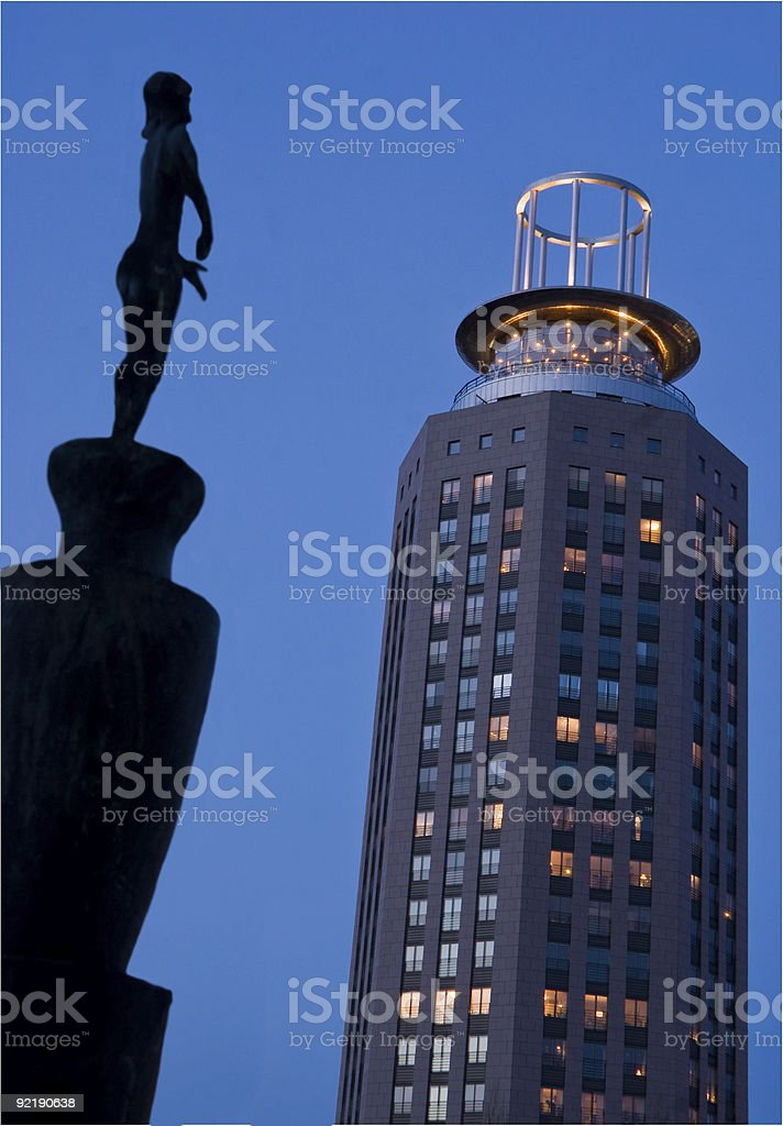 South Tower royalty-free stock photo
