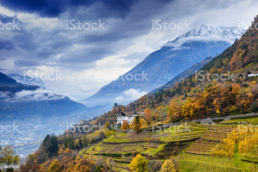 South Tyrol, Italy stock photo
