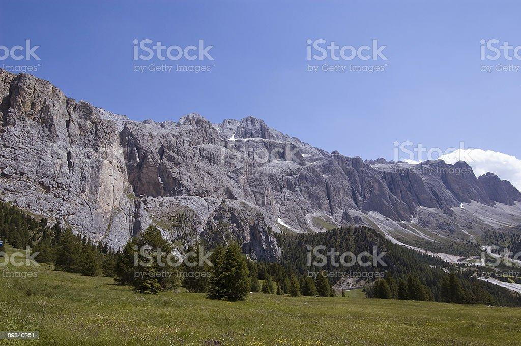 South Tyrol Mountain Range royalty-free stock photo