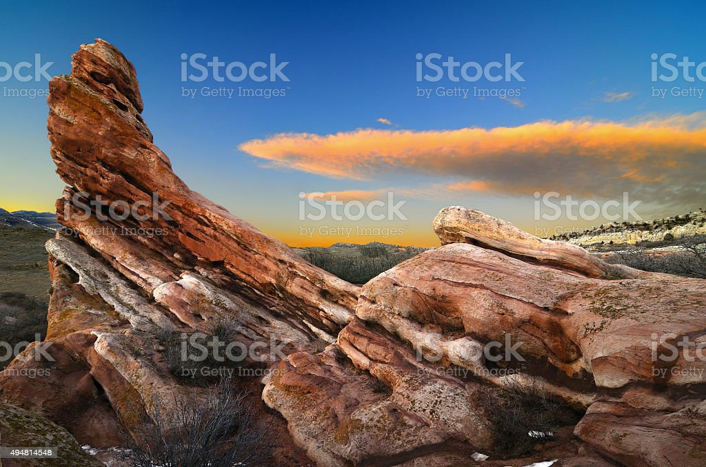 South Valley stock photo