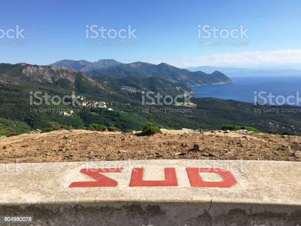 South View Of Cap Corse Corsica - Fotografie stock e altre immagini di Ambientazione esterna