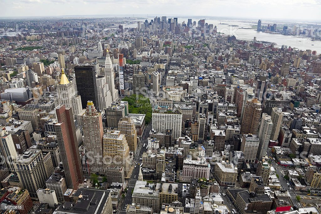 South view of Manhattan royalty-free stock photo