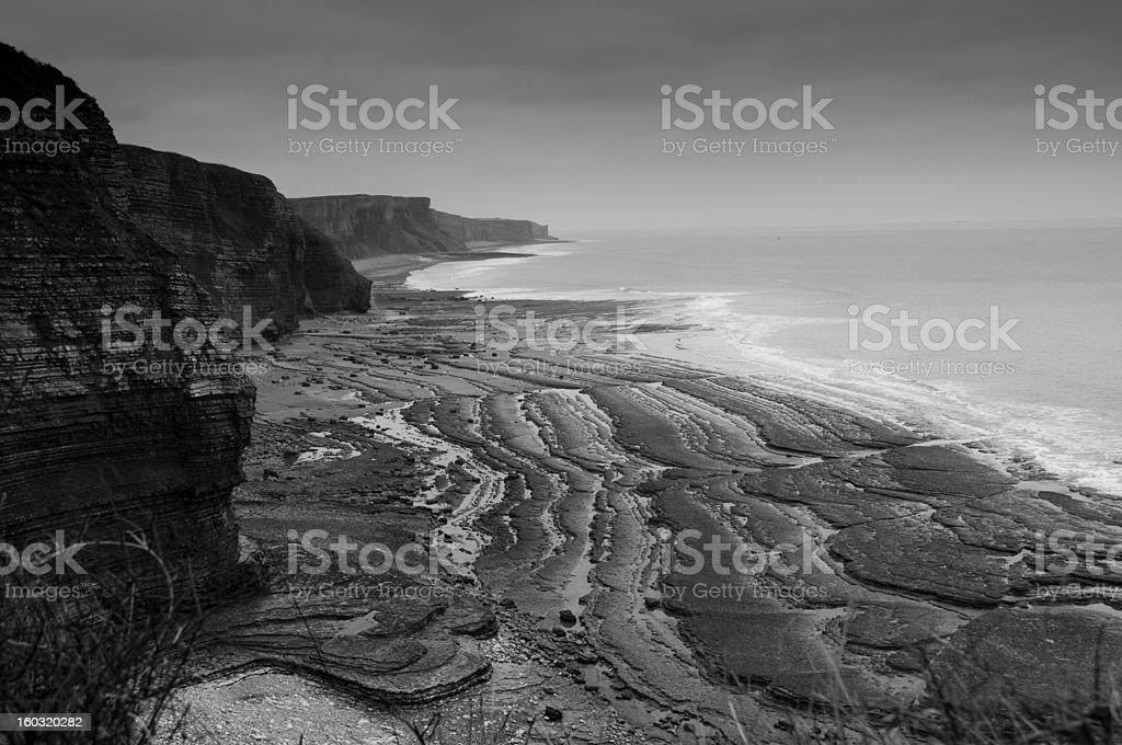 South Wales Coast royalty-free stock photo