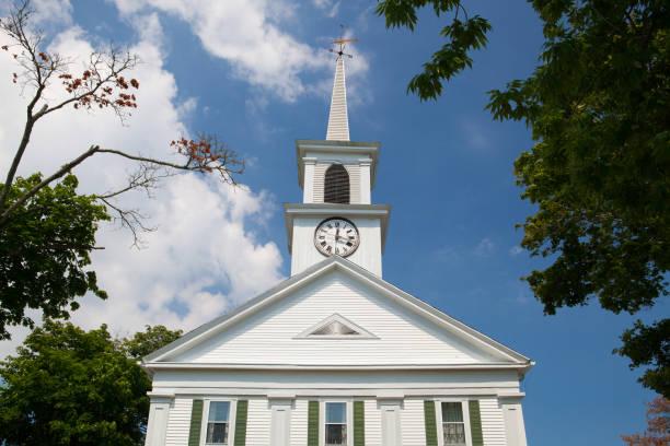 South Yarmouth United Methodist Church stock photo