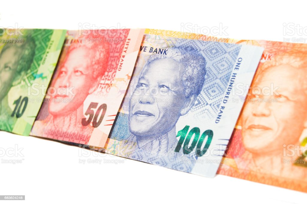 South-Africa Notes stock photo