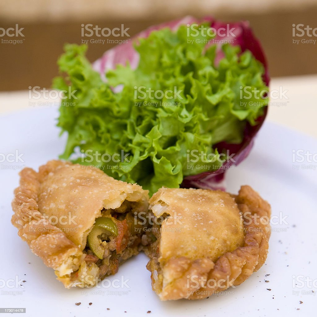 south-american empanada royalty-free stock photo