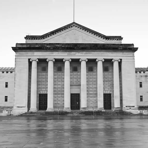 Southampton Guildhall stock photo