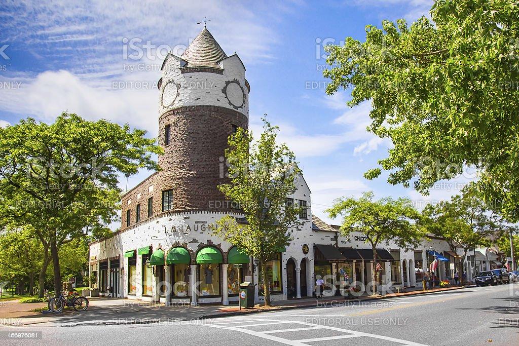 Southampton NY stock photo