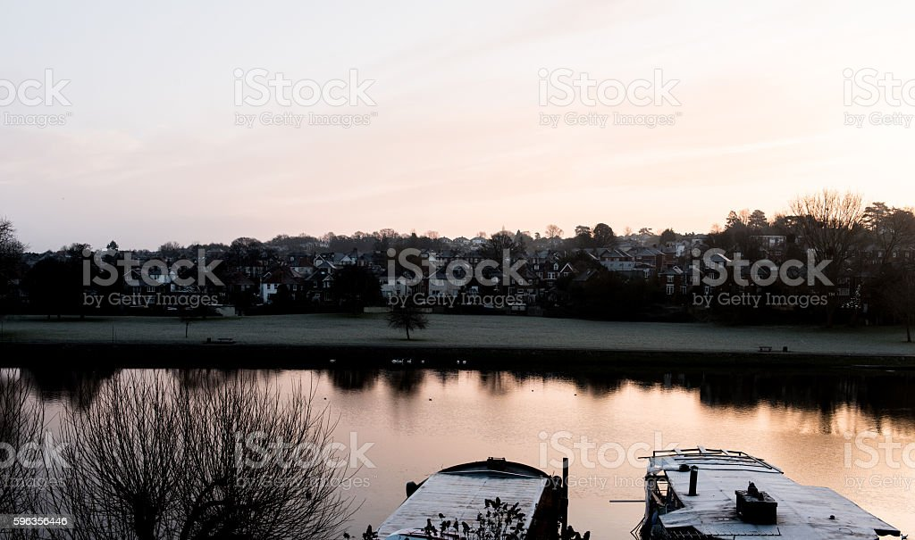 Southampton River royalty-free stock photo