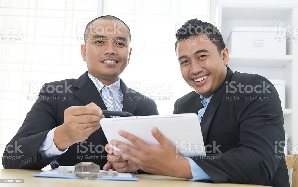 Southeast Asian business people stock photo