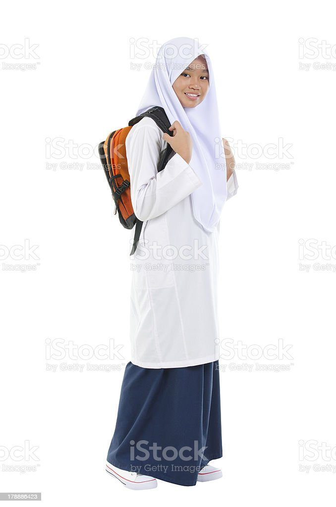 Southeast Asian teen stock photo