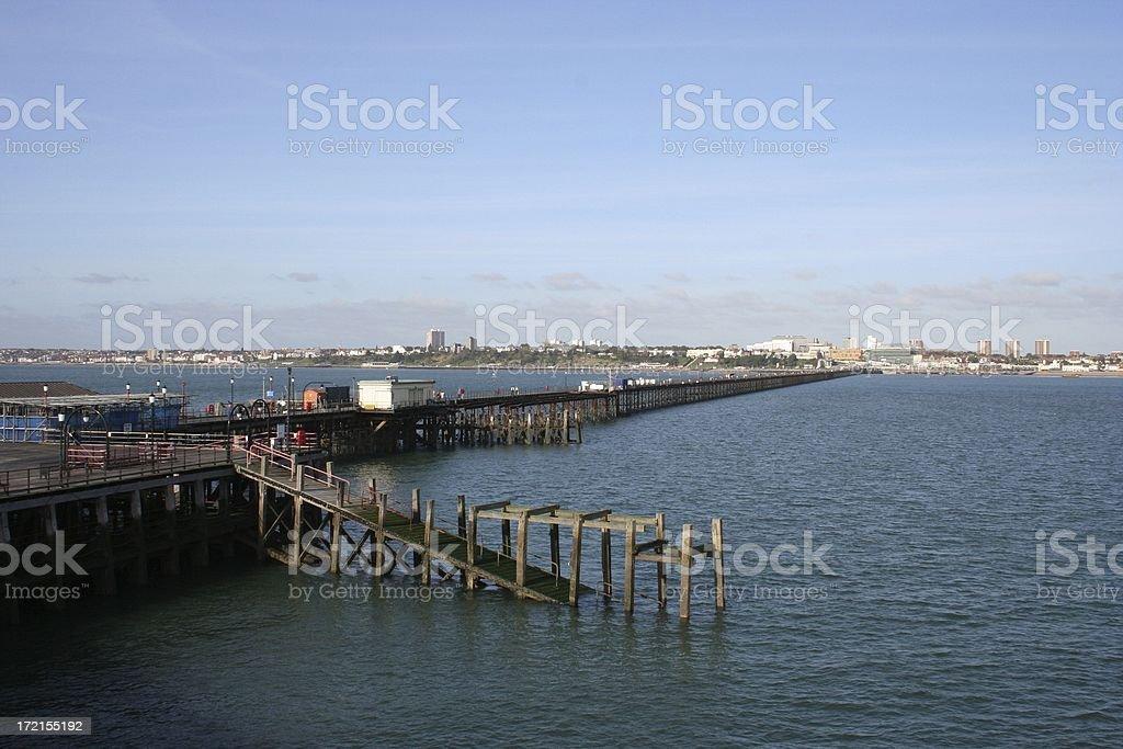 Southend Pier royalty-free stock photo