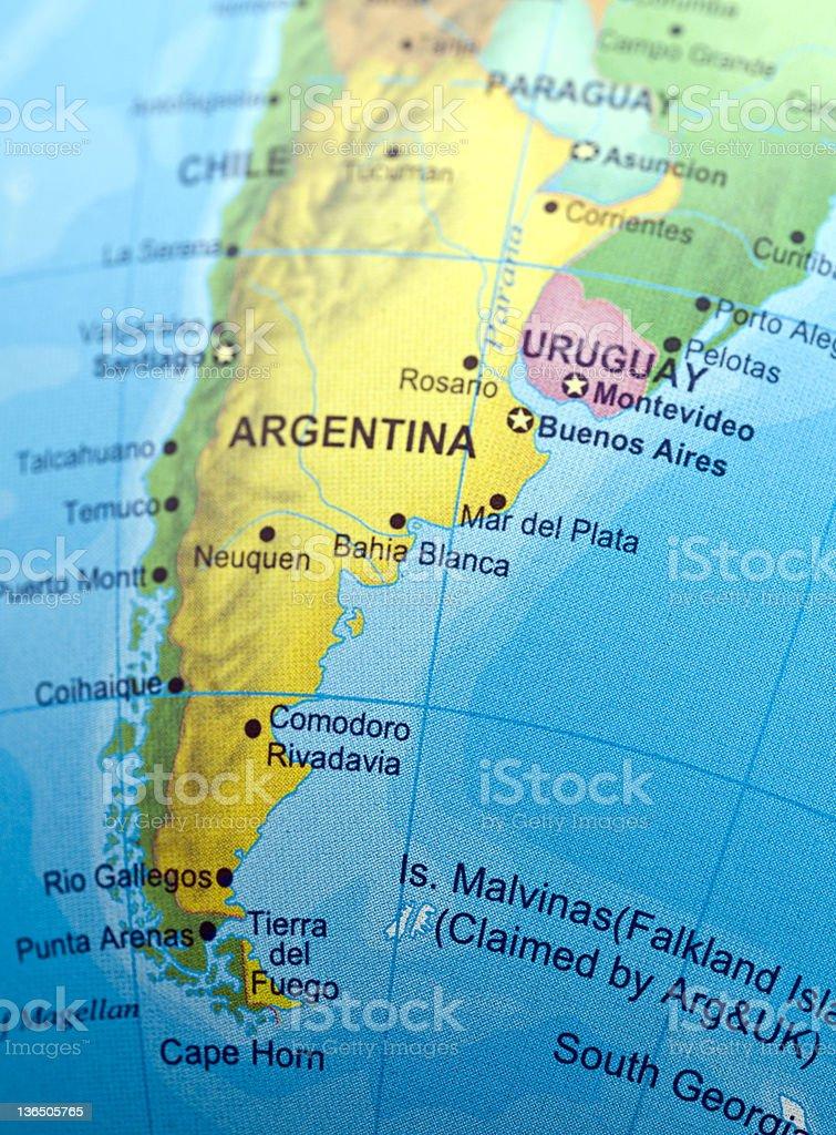 Sur de Argentina - foto de stock