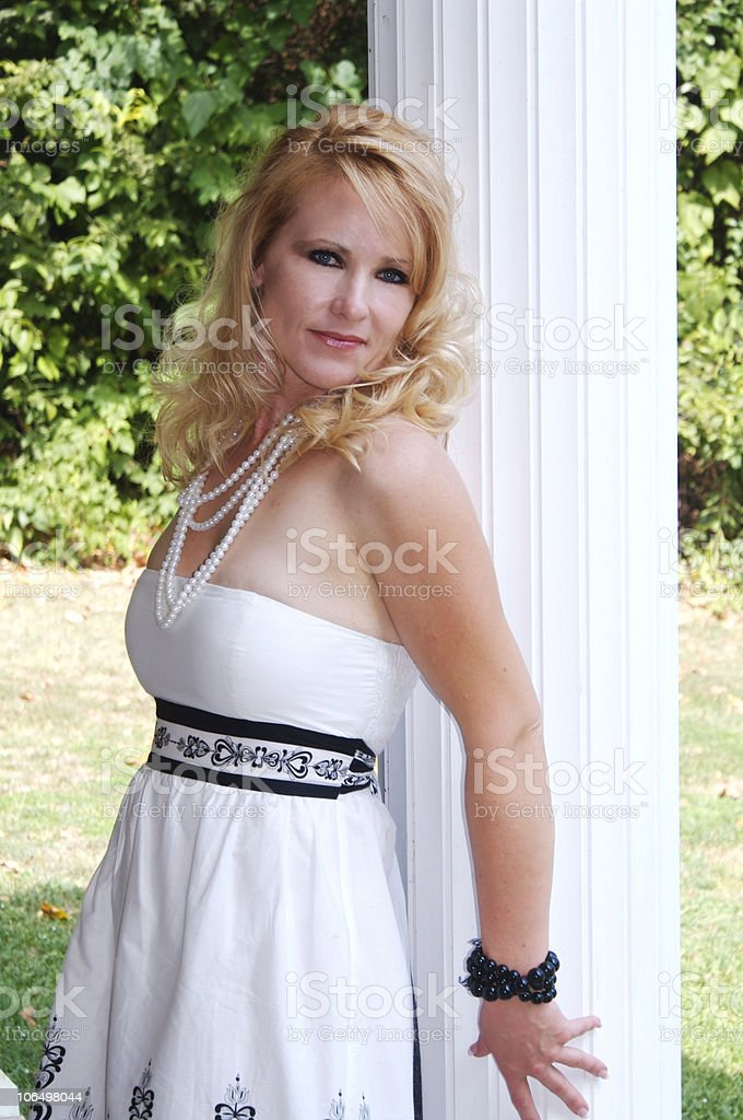 Southern Belle royalty-free stock photo