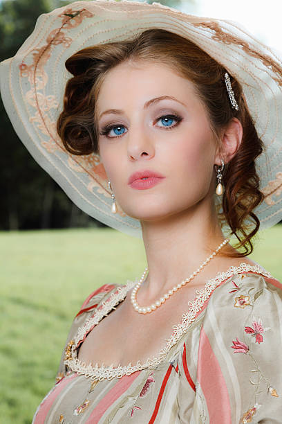 Southern Belle stock photo