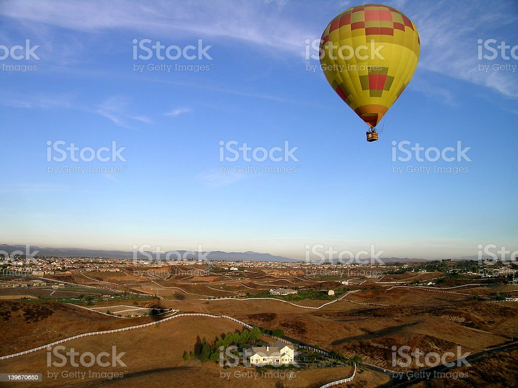Southern California Balloon royalty-free stock photo