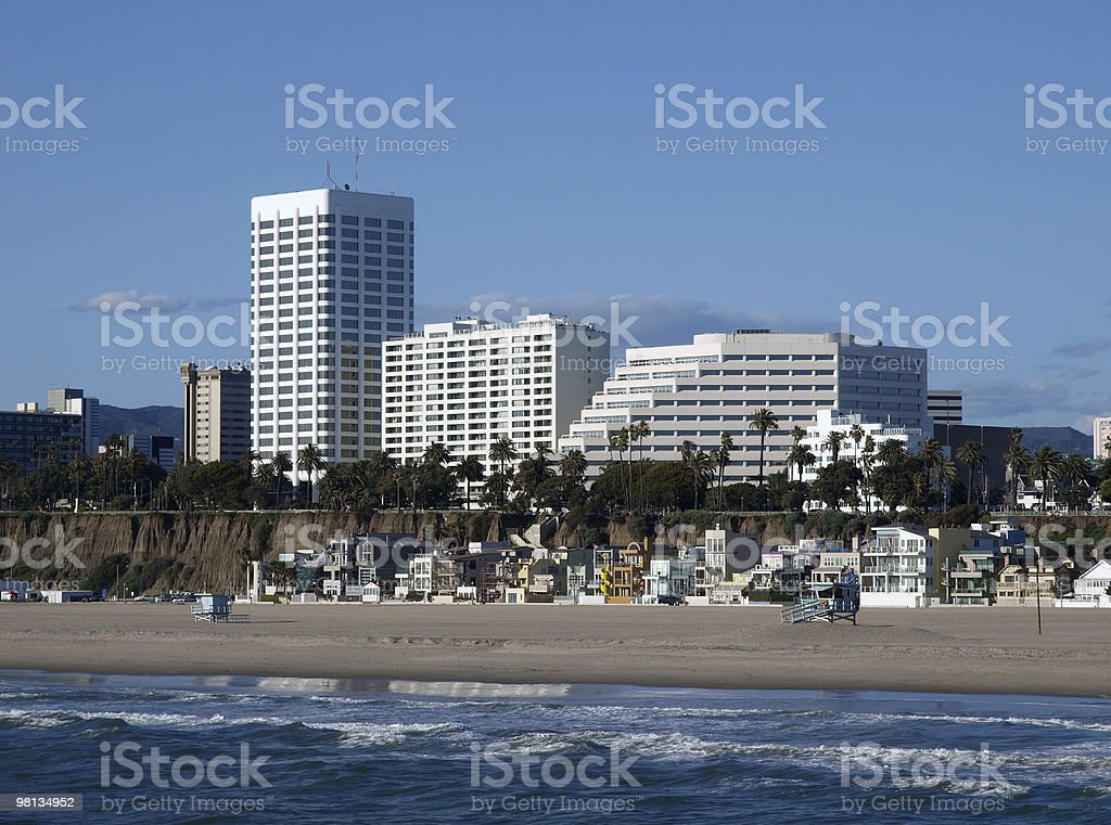 Southern California Coast royalty-free stock photo